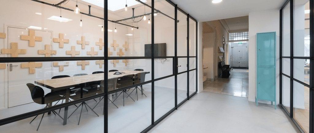 Kantoor binnen GH+O Communicatie in Leeuwarden