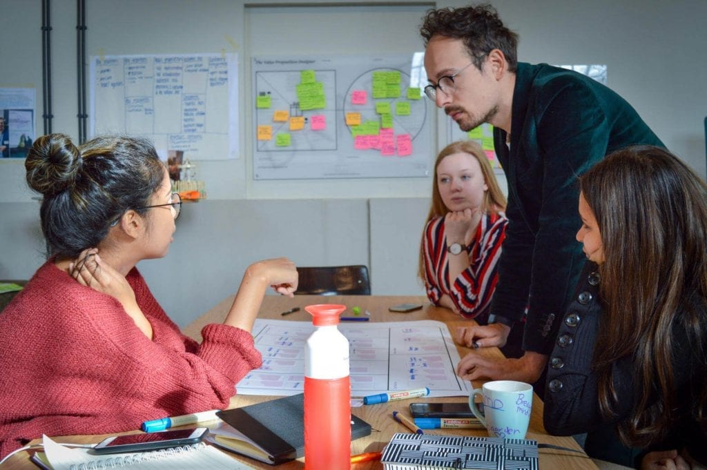 Brainstorm sessie met Vriso Visser van Brainfuel