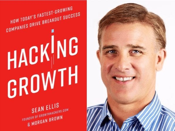 Cover Boek Sean Ellis Hacking Growth