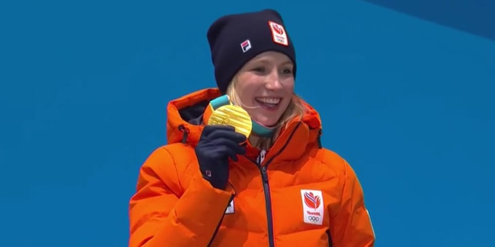 Carlijn Achtereekte haalt Goud op de Olympische spelen