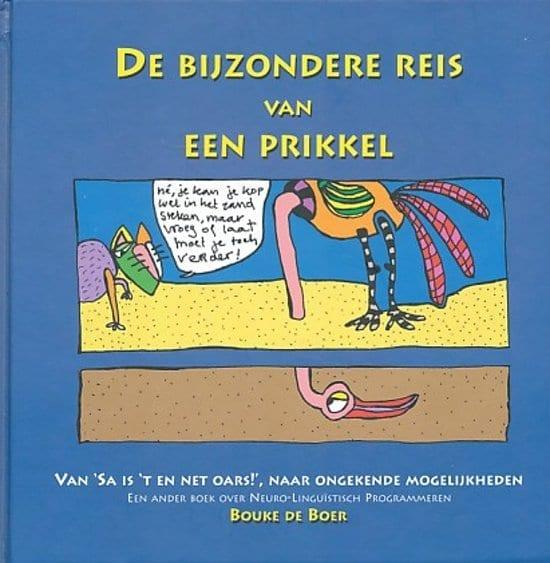 Cover boek Bouke de Boer de Bijzondere reis van een prikkel