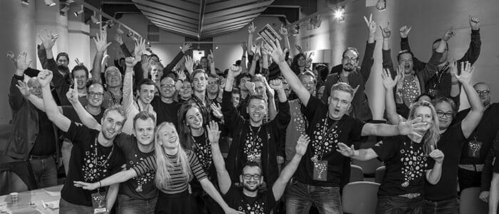 Groepsfoto Startup Weekend Leeuwarden 2018