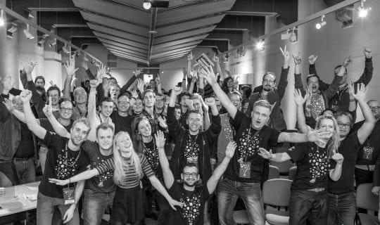 podcast cover: Startup <strong>Weekend</strong>: Het startup evenement van de wereld