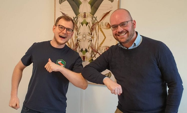 podcast cover: Bouwinus <strong>Sikkes</strong> over zijn Burn-out