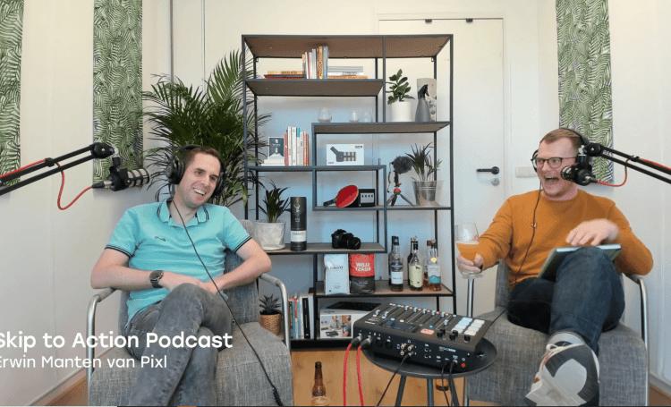 podcast cover: Erwin <strong>Manten</strong> van Pixl
